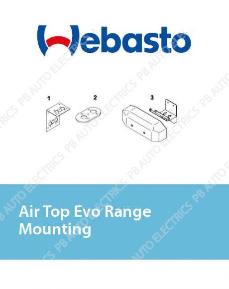 Webasto Air Top Evo Range Mounting
