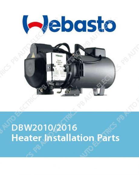 Webasto DBW2010/2016 Heater Installation Parts