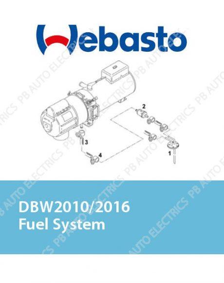 Webasto DBW2010/2016 Fuel System