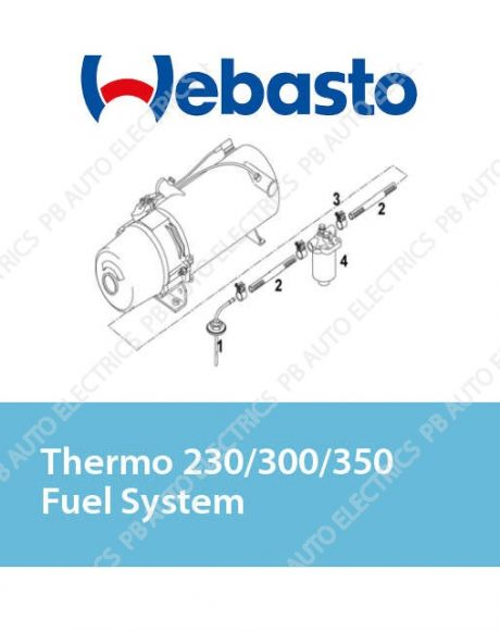 Webasto Thermo 230/300/350 Fuel System