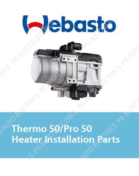 Webasto Thermo 50/Pro 50 Heater Installation Parts