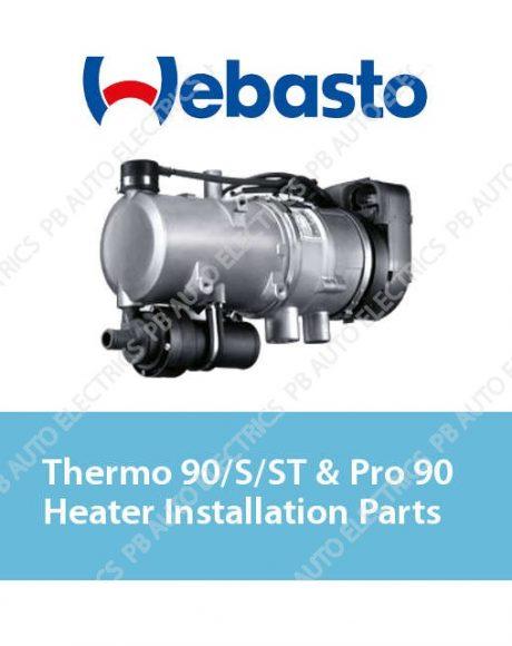 Webasto Thermo 90/S/ST & Pro 90 Heater Installation Parts