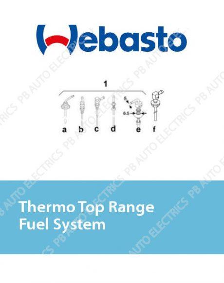 Webasto Thermo Top Range Fuel System