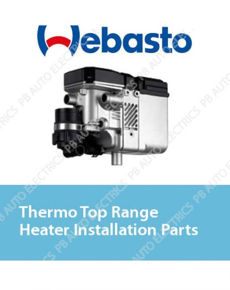 Webasto Thermo Top Range Heater Installation Parts