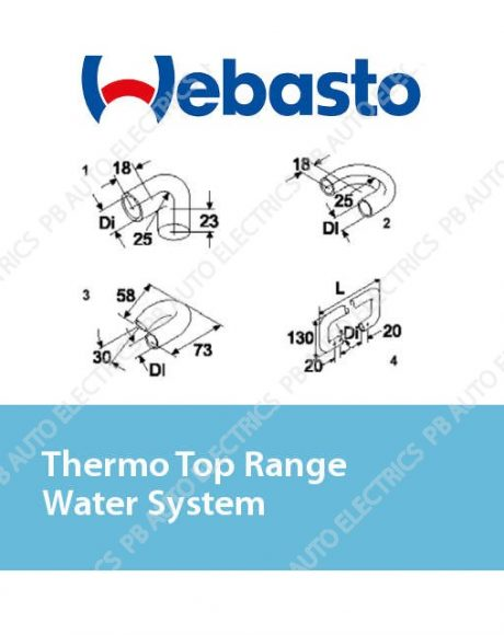 Webasto Thermo Top Range Water System