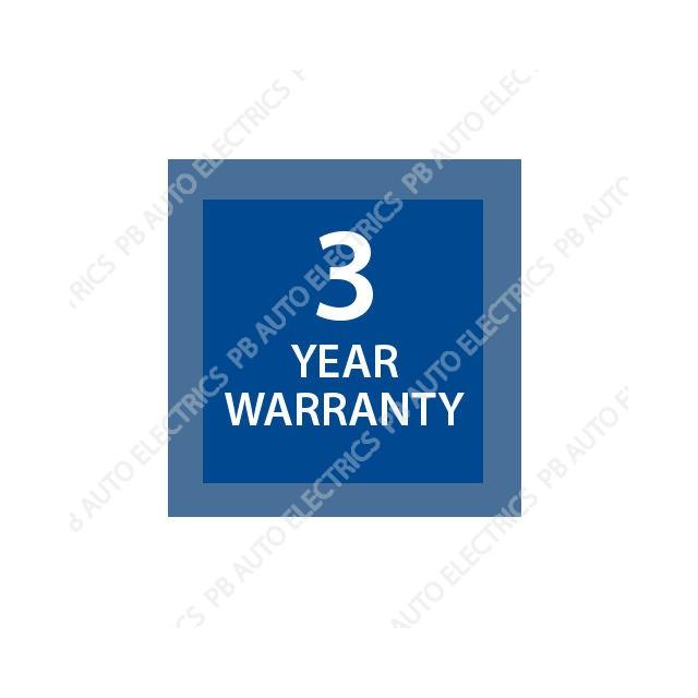 Brigade 3 year warranty