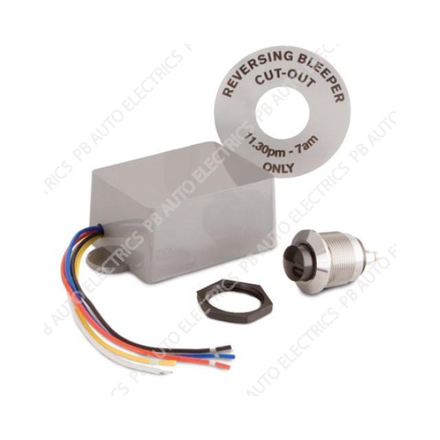 Brigade Timed Auto Reset Backalarm Reversing Beeper Cut Out (dash mount) – TCO-47 (A0663)