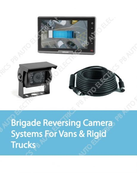 brigade reversing camera systems for rigid van or trucks1 460x580 brigade reversing & vehicle safety pb auto electrics commercial brigade camera wiring diagram at creativeand.co