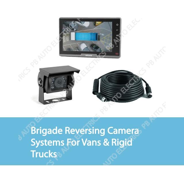 Brigade Reversing Camera Systems For Vans & Rigid Trucks