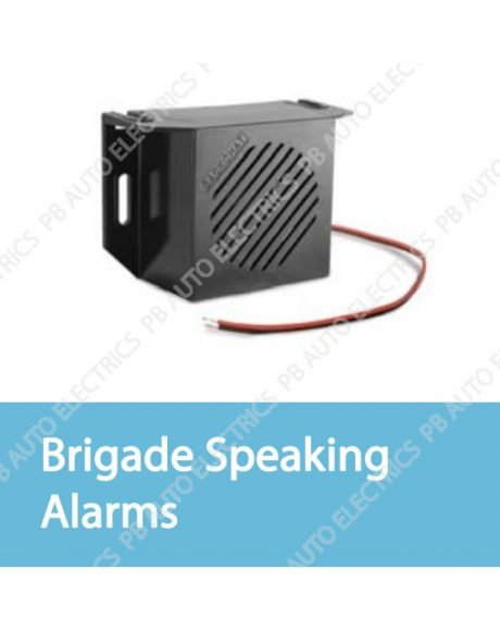 Brigade Speaking Alarms