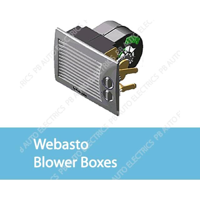 Webasto Blower Boxes