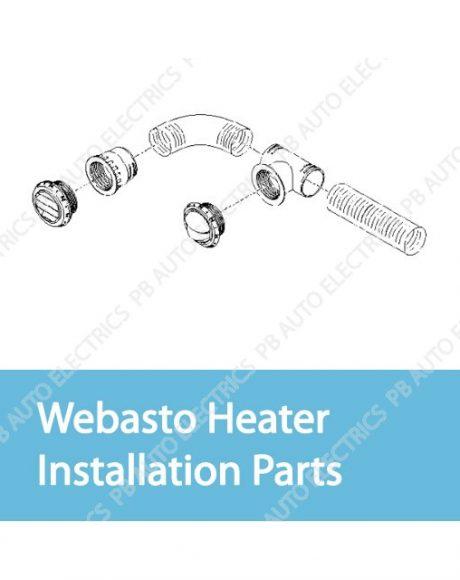 Webasto Heater Installation Parts