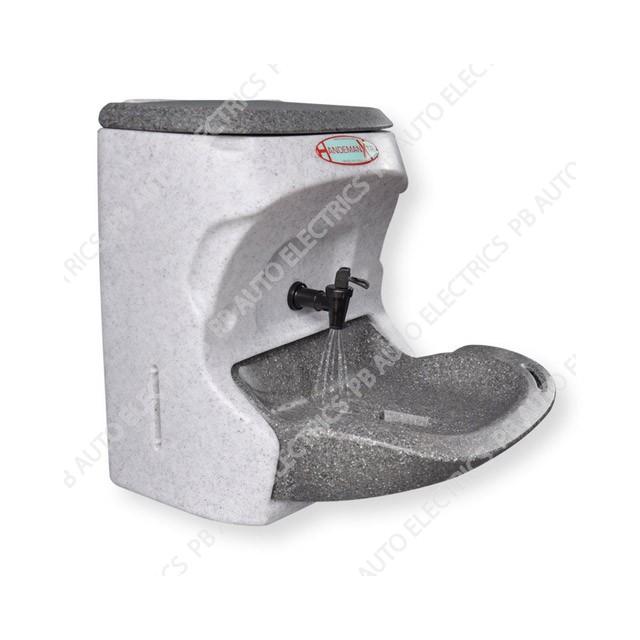Teal Handeman Xtra Handwash Sink 24v 250watt 10amp GREY - VS - HMX24