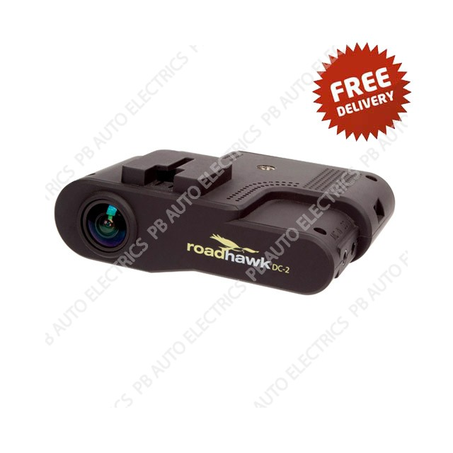 Roadhawk dc 2 full high definition 1080p in vehicle black for Commercial motor vehicle definition