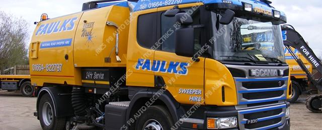 AE Faulks Sweeper