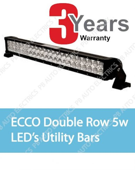 ECCO Double Row 5W LED's Utility Bar