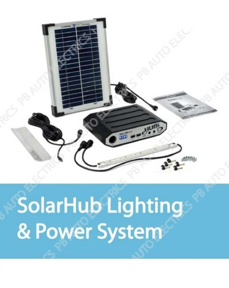 Hubi Work Lighting & Power System