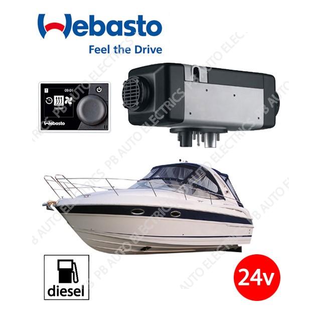 Webasto Air Top 2000 STC 24v Marine Air Heater Kit Diesel Multi Controller (No Ducting) - 4111182C-MC