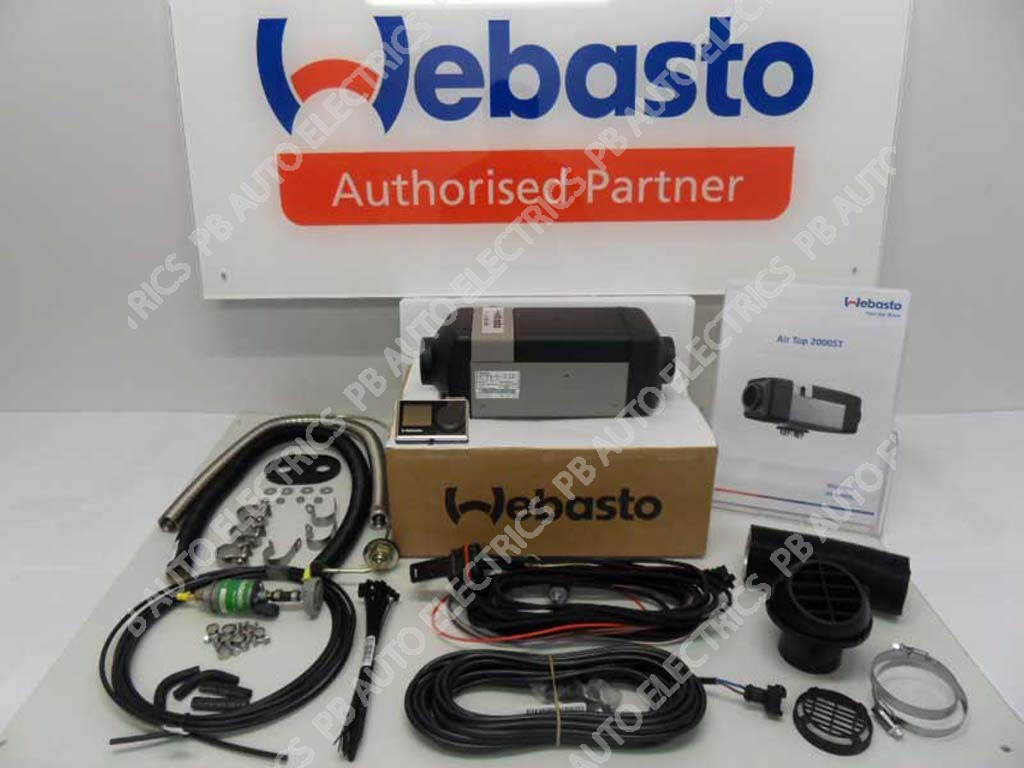 webasto air top 2000 stc 24v universal heater kit diesel