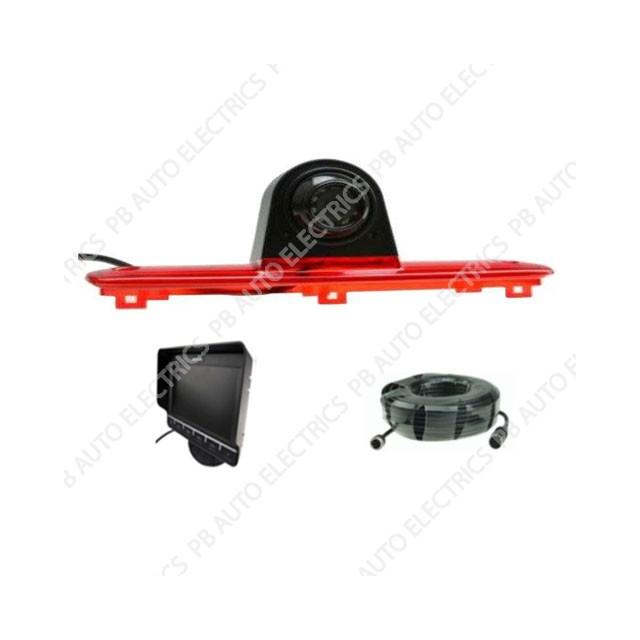 High level Brake Light Camera Kit for Fiat Ducato/Citroen Relay/Peugeot Boxer – TES-DUCTM7001