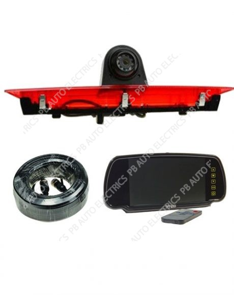 High Level Brake Light Camera Kit for Ford Transit - TES-TRANT