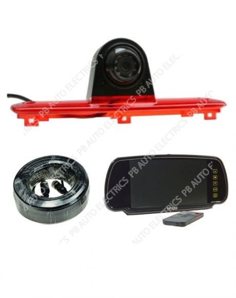High level Brake Light Camera Kit for Fiat Ducato/Citroen Relay/Peugeot Boxer - TES-DUCT