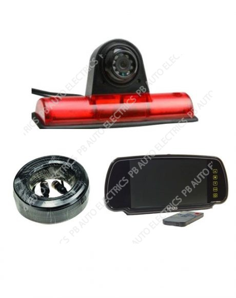 Universal High Level Brake Light Camera Kit – TES-UNITM7001