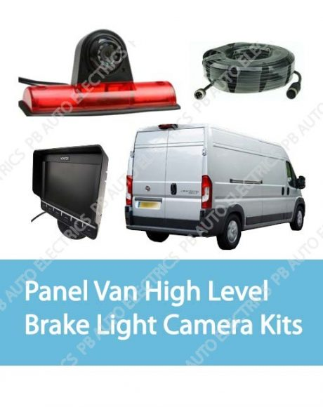 Panel Van High Level Brake Light Camera Kits