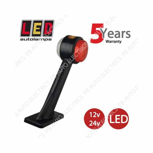 LED Autolamps Stalk Marker Lamp RIGHT 12//24v 1005RE