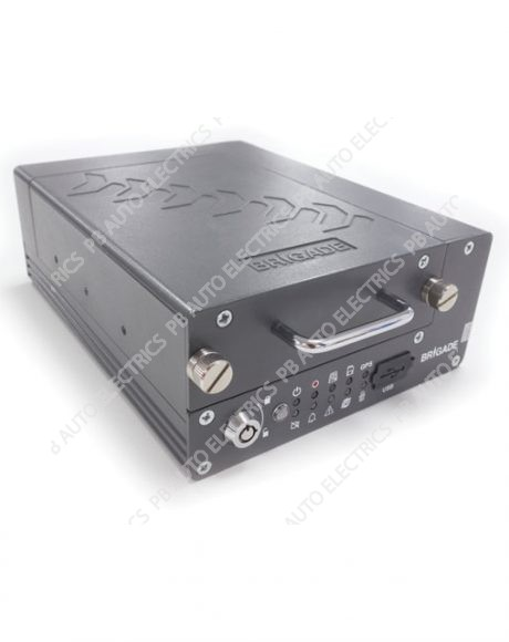 Brigade MDR Mobile Digital 4 Channel 500GB Hard Disk Recording System - MDR-504-500 (5122)
