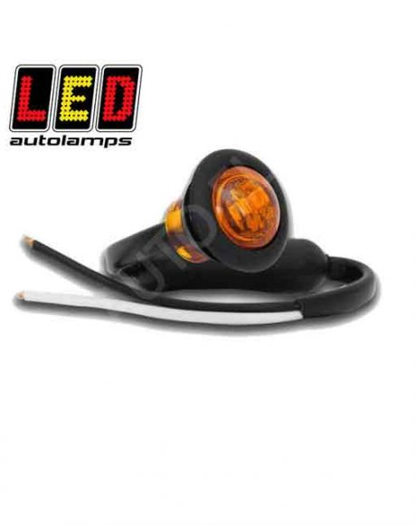 LED Autolamps Round Amber Marker Lamp 181AME