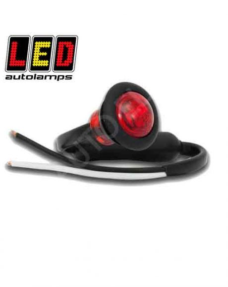 LED Autolamps Round Red Marker Lamp 181RME