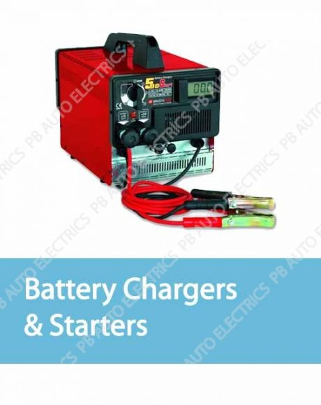 Battery Chargers & Starters