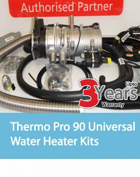 Webasto Thermo Pro 90 Universal Water Heater Kits