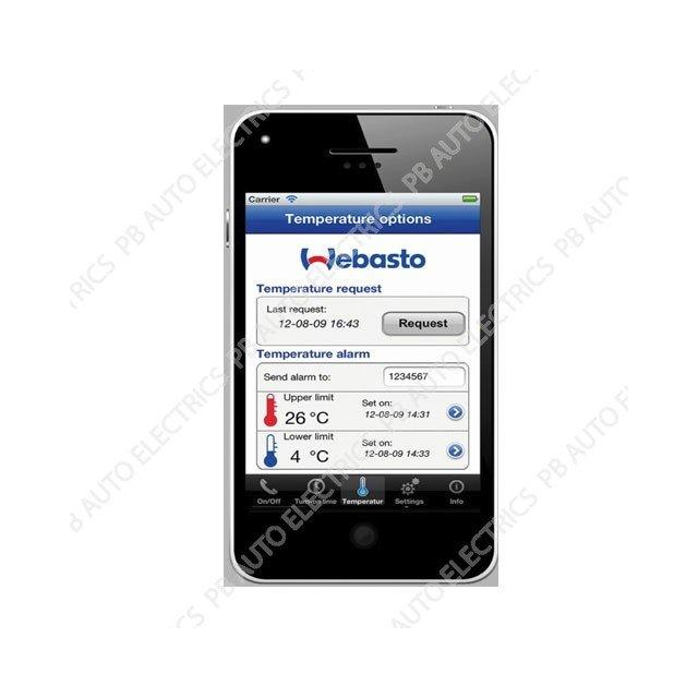 Webasto TC4 Thermocall App