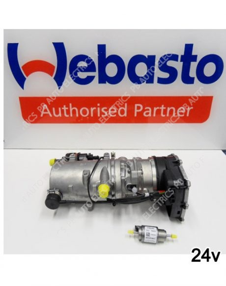 Webasto Thermo Pro 90 Diesel 24v Water Heater & Fuel Pump (excludes installation kit) - 9023076C