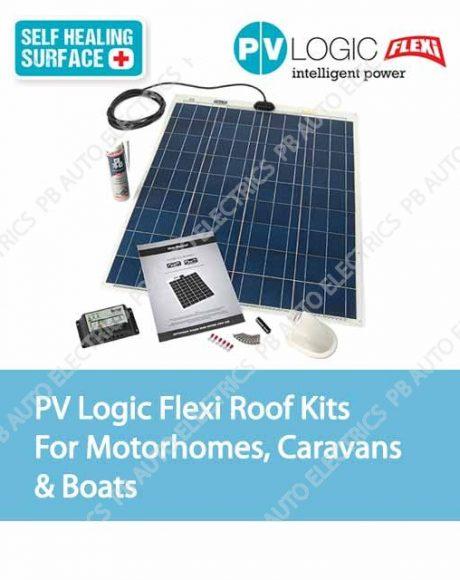 Solar Technology PV Logic Flexi Roof Kits For Motorhomes, Caravans & Boats