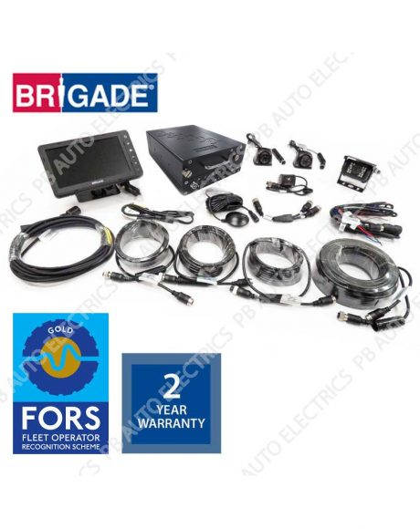 Brigade FORS Gold MDR Camera Monitor Recording System For Rigid Vehicles – FORSGOLD