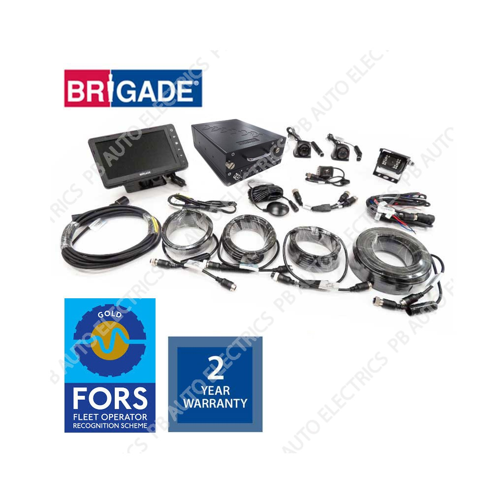 ... Brigade FORS Gold MDR Camera Monitor Recording System For Rigid  Vehicles – FORSGOLD