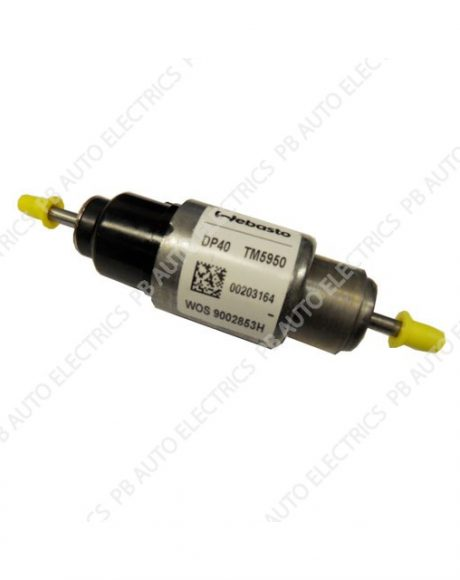 Webasto Fuel Pump 12v Petrol without damper - 9024803A