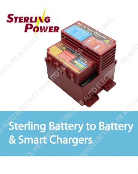Sterling Battery to Battery & Smart Chargers