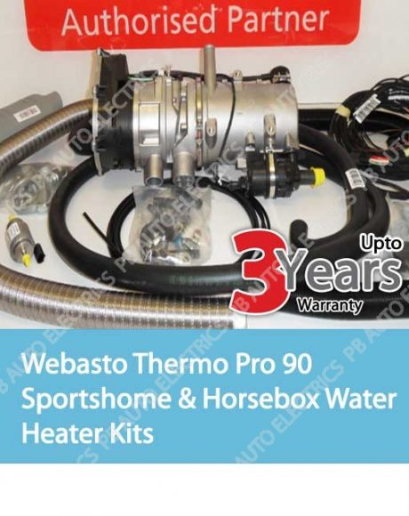 Webasto Thermo Pro 90 Sportshome And Horsebox Water Heater Kits