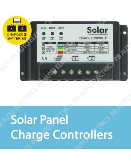 Solar Panel Charge Controllers