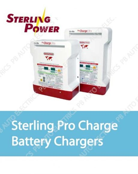 Sterling Pro Charge Battery Chargers