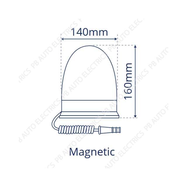 LAP Electrical Beacon LMB020-diagram