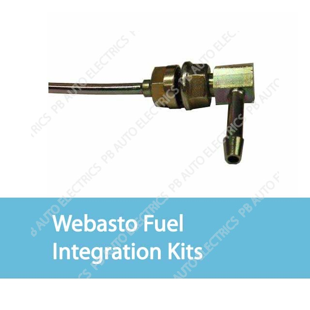 Webasto Fuel Integration Kits