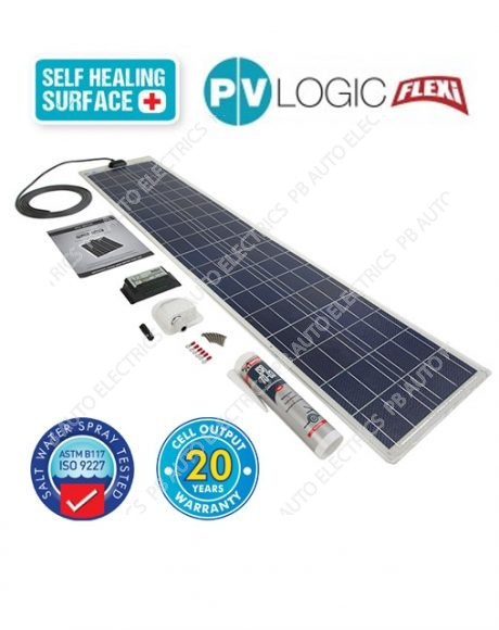 120 Watt PV Logic Flexi Roof Top Kit with 10Amp Charge Controller - STPVFRT120