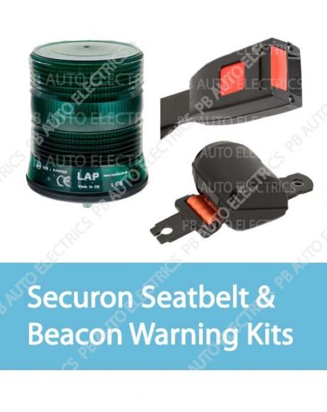 Securon Seatbelt & Beacon Warning Kits