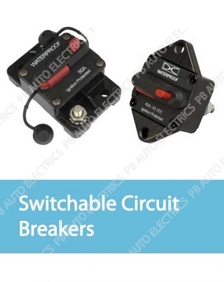 Switchable Surface & Panel Mount Circuit Breakers