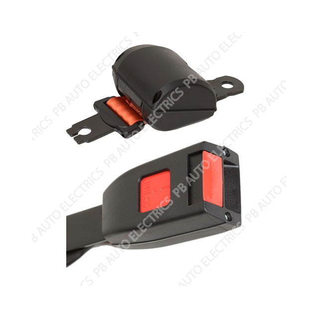 Securon Orange Seat Belt With Fixing Buckle Only - SBK